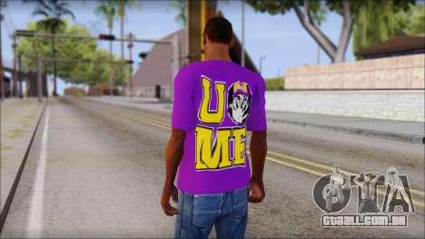 Paises Bajos Sneijder T-Shirt para GTA San Andreas segunda tela