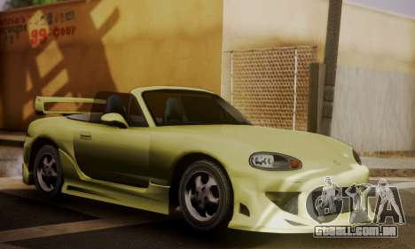 Mazda MX5 DUB para GTA San Andreas