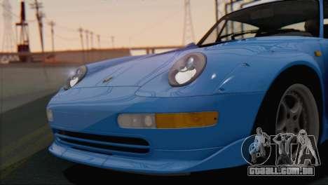 Porsche 911 GT2 (993) 1995 V1.0 SA Plate para vista lateral GTA San Andreas