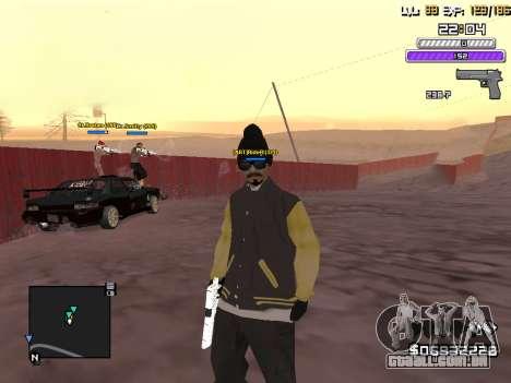 C-HUD by Weezy para GTA San Andreas