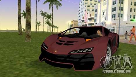 Zentorno from GTA 5 para GTA Vice City