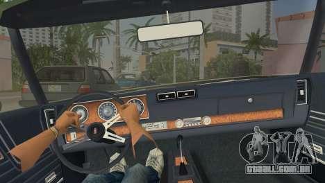 Oldsmobile 442 1970 para GTA Vice City vista direita