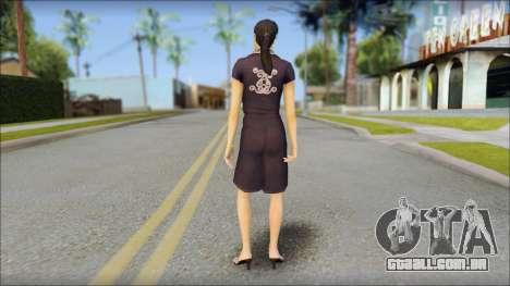 Young Woman para GTA San Andreas segunda tela