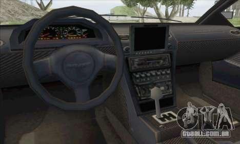 Pegassi Infernus para GTA San Andreas vista interior