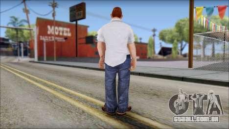 Russell from Bully Scholarship Edition para GTA San Andreas terceira tela