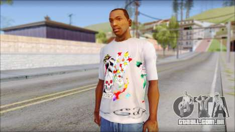 Ed Hardy T-Shirt para GTA San Andreas