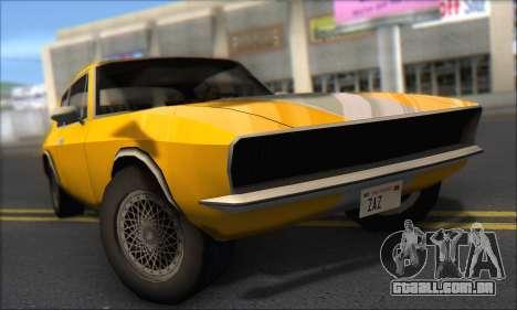 Jensen Intercepter 1971 Fast And Furious 6 para GTA San Andreas esquerda vista