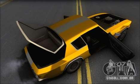 Jensen Intercepter 1971 Fast And Furious 6 para GTA San Andreas vista interior