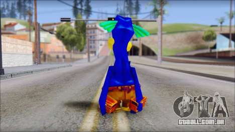 Rico the Penguin from Fur Fighters Playable para GTA San Andreas terceira tela