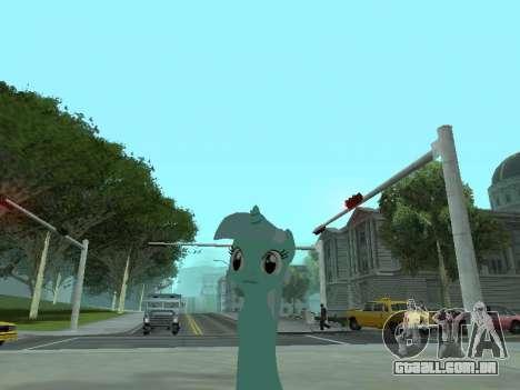 Lyra para GTA San Andreas segunda tela