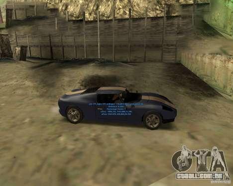 Autorepair para GTA San Andreas segunda tela