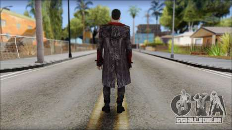 Dante DMC Reboot para GTA San Andreas segunda tela