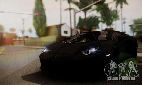 Lamborghini Aventador TT Ultimate Edition para GTA San Andreas vista direita
