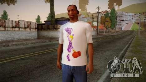 Lostsaga T-Shirt para GTA San Andreas