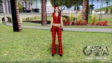 Rock Chicks Red Ped para GTA San Andreas