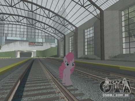 Pinkie Pie para GTA San Andreas sexta tela