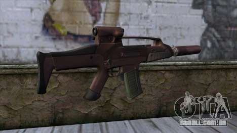 XM8 Compact Red para GTA San Andreas segunda tela