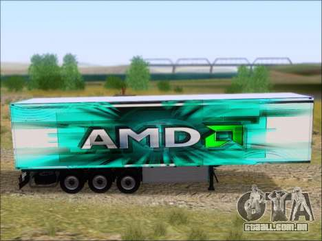 Trailer AMD Athlon 64 X2 para GTA San Andreas vista traseira