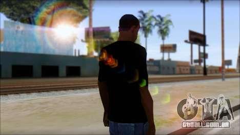 Guitar T-Shirt Mod v2 para GTA San Andreas segunda tela