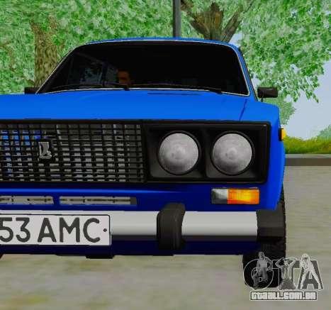 VAZ 21061 para GTA San Andreas vista direita