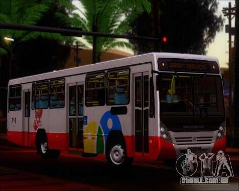 Neobus Mega IV - TCA (Araras) para GTA San Andreas vista interior