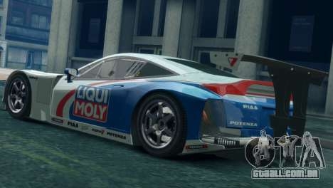 Honda HSV-010 GT para GTA 4 esquerda vista