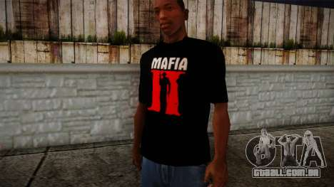 Mafia 2 Black Shirt para GTA San Andreas