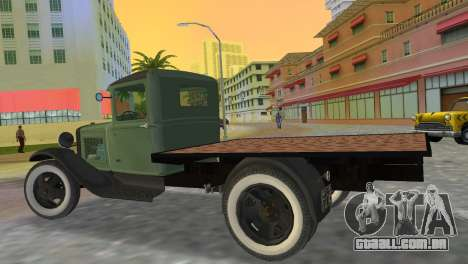 Ford Model AA 1930 para GTA Vice City deixou vista