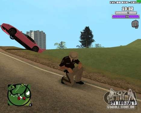 C-HUD by Weezy para GTA San Andreas segunda tela