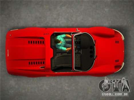 Ferrari 246 Dino GTS 1972 para GTA Vice City vista traseira esquerda