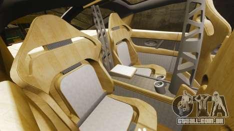 Spyker D8 para GTA 4 vista lateral