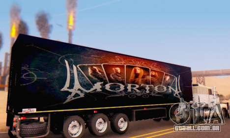 Trailer Chereau Morton Banda De 2014 para GTA San Andreas vista direita