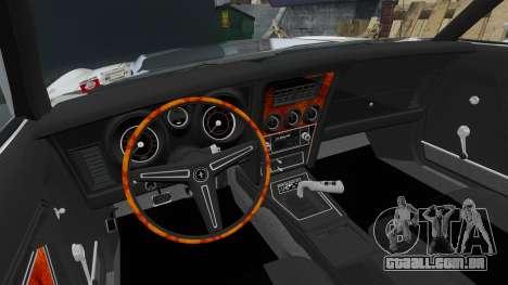 Ford Mustang Mach 1 1973 v3.0 GCUCPSpec Edit para GTA 4 vista de volta