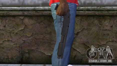 Sawnoff Shotgun from GTA 5 para GTA San Andreas terceira tela