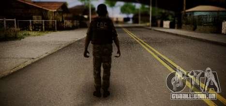 Sicario Del Golfo para GTA San Andreas segunda tela