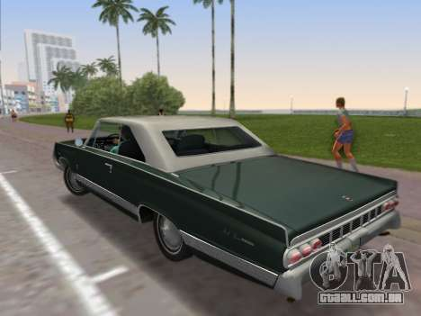 Mercury Park Lane 1964 para GTA Vice City deixou vista