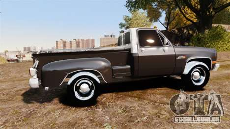GMC 454 Pick-Up para GTA 4 esquerda vista