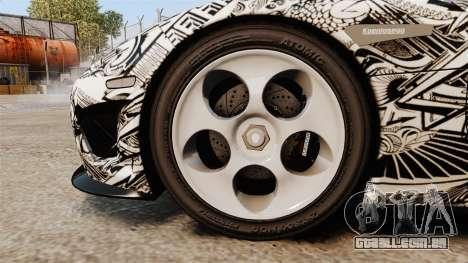 Koenigsegg CCX v1.5 para GTA 4 vista de volta