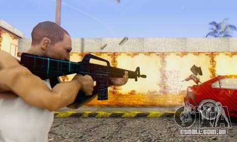 Abstract M16 para GTA San Andreas segunda tela