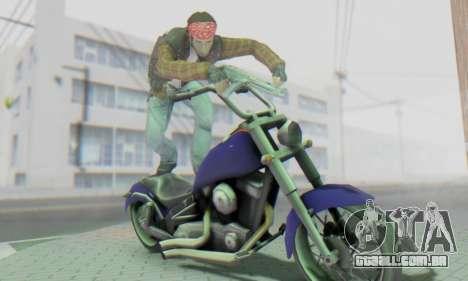 Biker A7X 2 para GTA San Andreas sexta tela