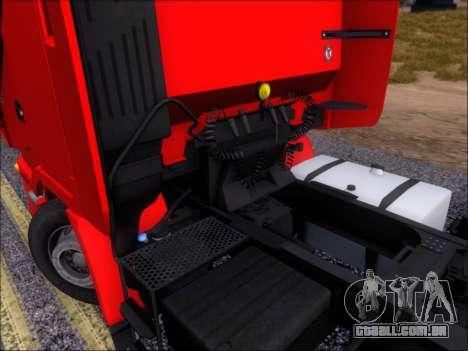 Iveco Stralis HiWay 560 E6 6x4 para GTA San Andreas vista superior