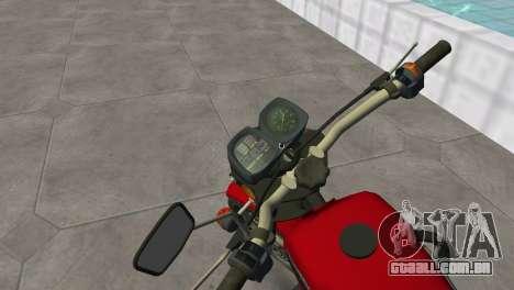 IZH Planeta 5 para GTA Vice City vista traseira esquerda