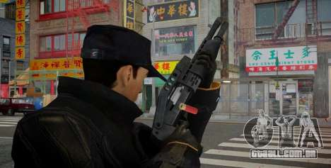 SPAS-12 para GTA 4 segundo screenshot