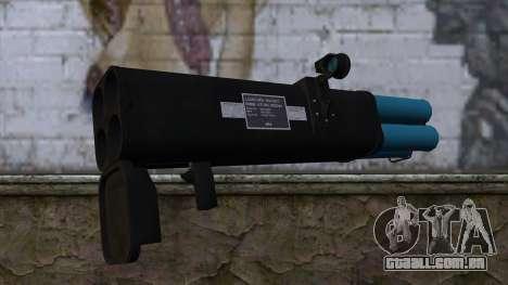 M20 BRS Rocket Launcher para GTA San Andreas segunda tela