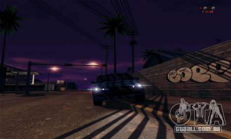 [ENB] Kings of the streers para GTA San Andreas quinto tela