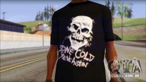 Rey Mystirio T-Shirt para GTA San Andreas terceira tela