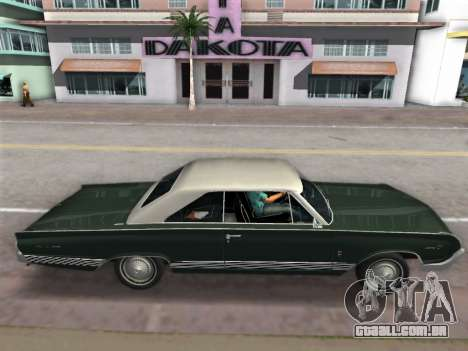Mercury Park Lane 1964 para GTA Vice City vista direita