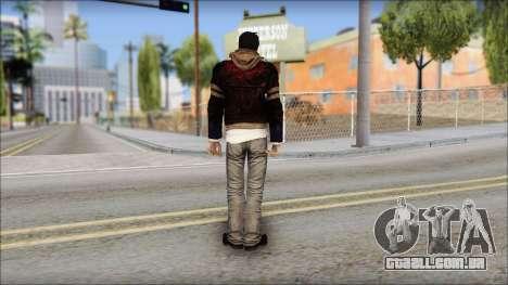 Unhooded Alex from Prototype para GTA San Andreas segunda tela
