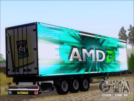Trailer AMD Athlon 64 X2 para GTA San Andreas vista direita