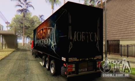 Trailer Chereau Morton Banda De 2014 para GTA San Andreas traseira esquerda vista